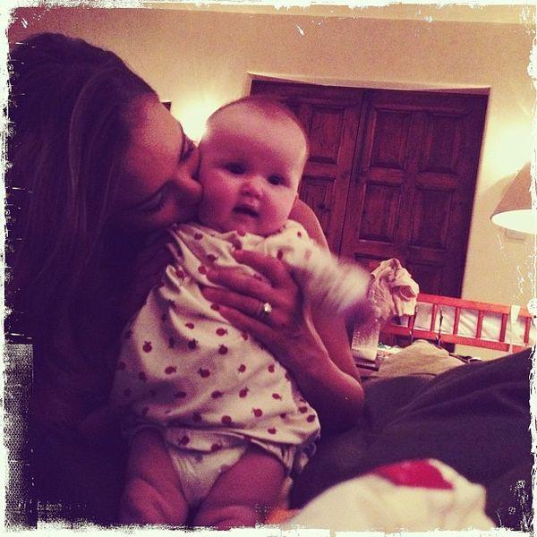 Jessica Alba chwali się córeczką!