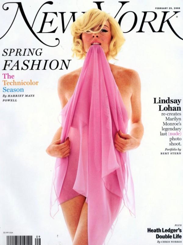 Naga sesja Lindsay Lohan (ZOBACZ ZDJĘCIA)