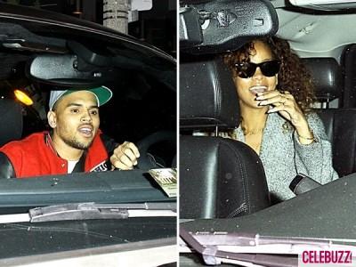 Rihanna i Chris wychodzą z tego samego klubu! Nagranie!
