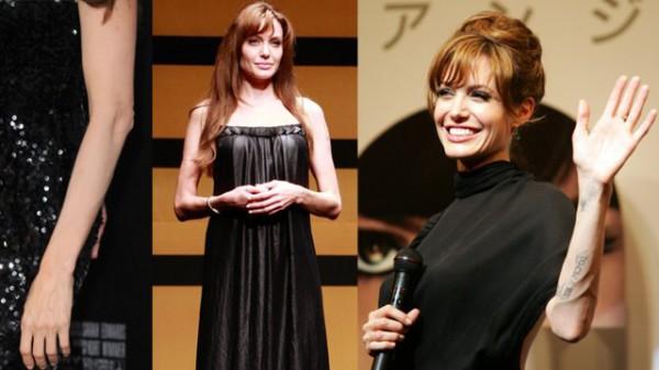 Angelina Jolie - żywy trup!