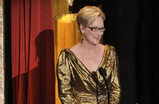 Okropna kreacja  Meryl Streep