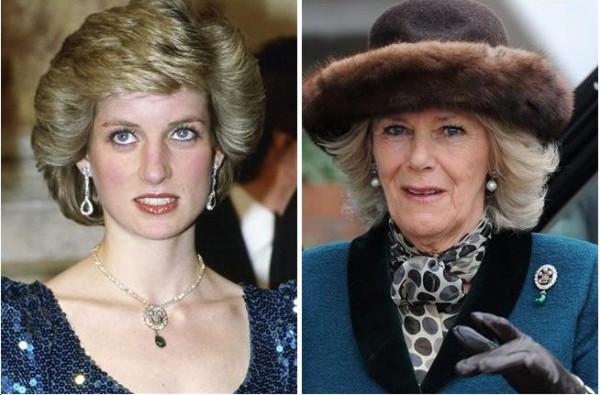 SKANDAL na dworze! Camilla nosi biżuterię Lady Di!