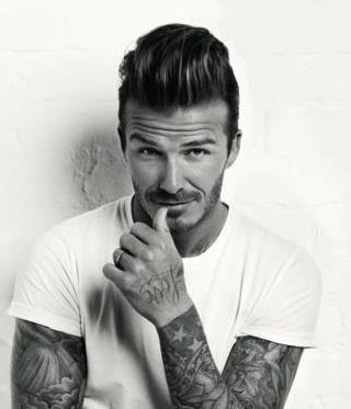 Beckham na okładce Elle!