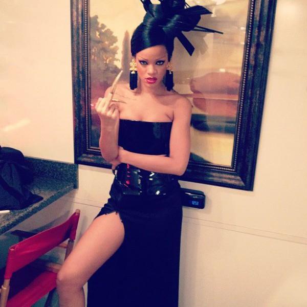 Rihanna źle skończy!