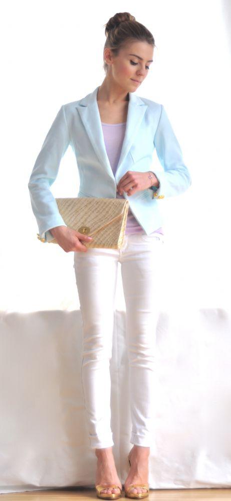 Pastelowa moda Kasi Tusk