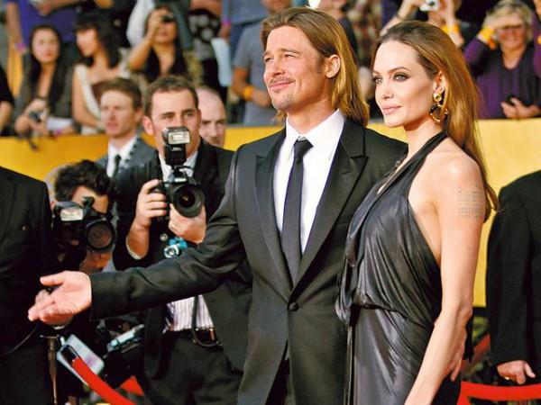 Angelina chudnie dla Brada?