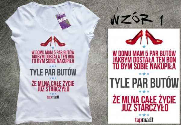 Koszulki z wypowiedziami Ani Bałon HITEM na Allegro - zobacz!