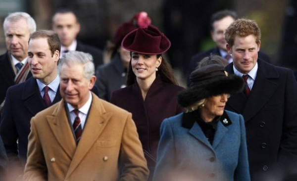 Pierwsze święta księcia Williama i Kate