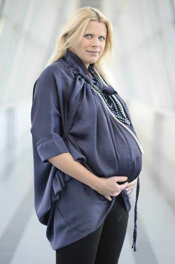 Maria Sadowska pokazuje brzuszek w zaawansowanej ciąży!
