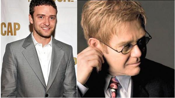 Justin Timberlake jako  Elton John