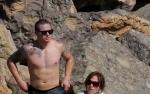 Lopez ze swoim młodym kochankiem na plaży!