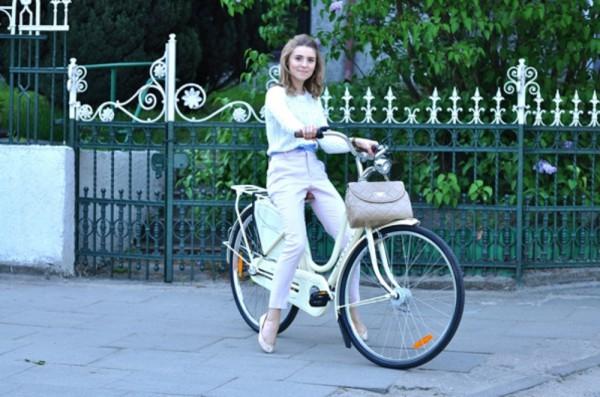 Tuskówna chwali się rowerem!