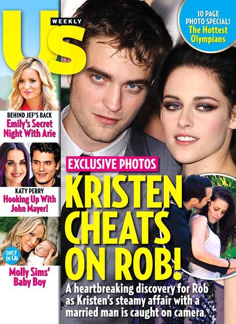 Skandal w Hollywood! Robert Pattinson zdradzony!