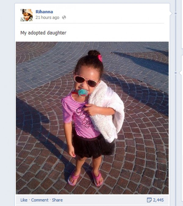 Rihanna adoptowała córkę?