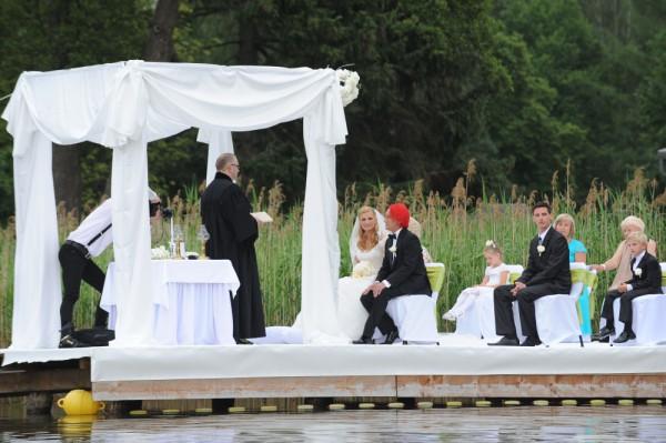 Ślub Wiśni w telewizji rolniczej