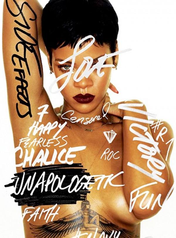 NAGA Rihanna na okładce swojej płyty!