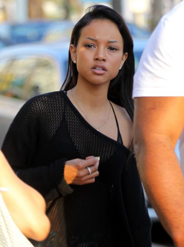 BYŁA dziewczyna Chrisa Browna ZROBIŁA MU AWANTURĘ?