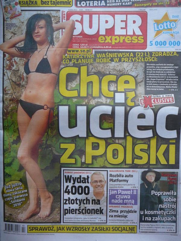 Katarzyna Waśniewska będzie MIAŁA OCHRONĘ!