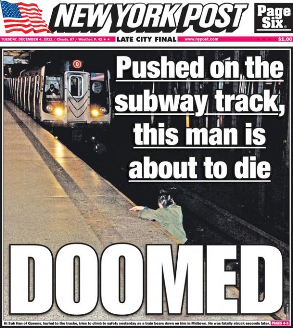 Zginął na stacji metra! Fotograf ROBIŁ MU ZDJĘCIA!