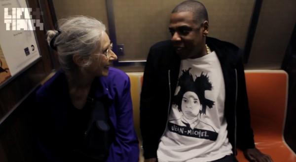 Jay Z jedzie na koncert... METREM!