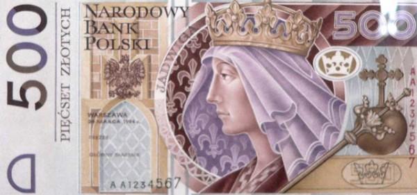 NBP wprowadza nowe banknoty. Na 500 zł ma widnieć podobizna Lecha Kaczyńskiego lub Jana Pawła II