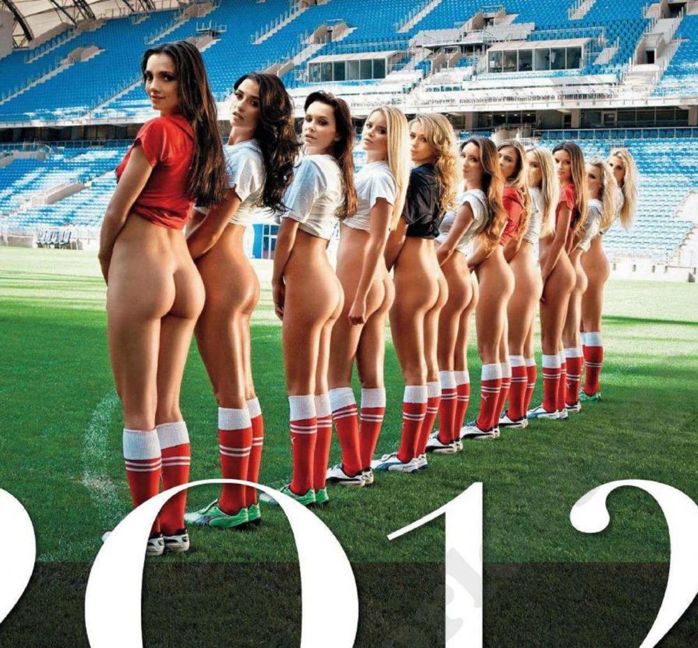 Футбольная команда трахнули девку 10 фотография