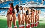 NAGIE modelki na Euro 2012 HOT! [+18]