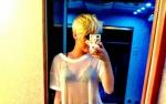 Miley pokazała bieliznę!