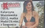 Katarzyna W. PRAWIE NAGA JEŹDZI KONNO!